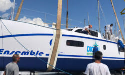 Outremer 51 Catamaran Launch in France