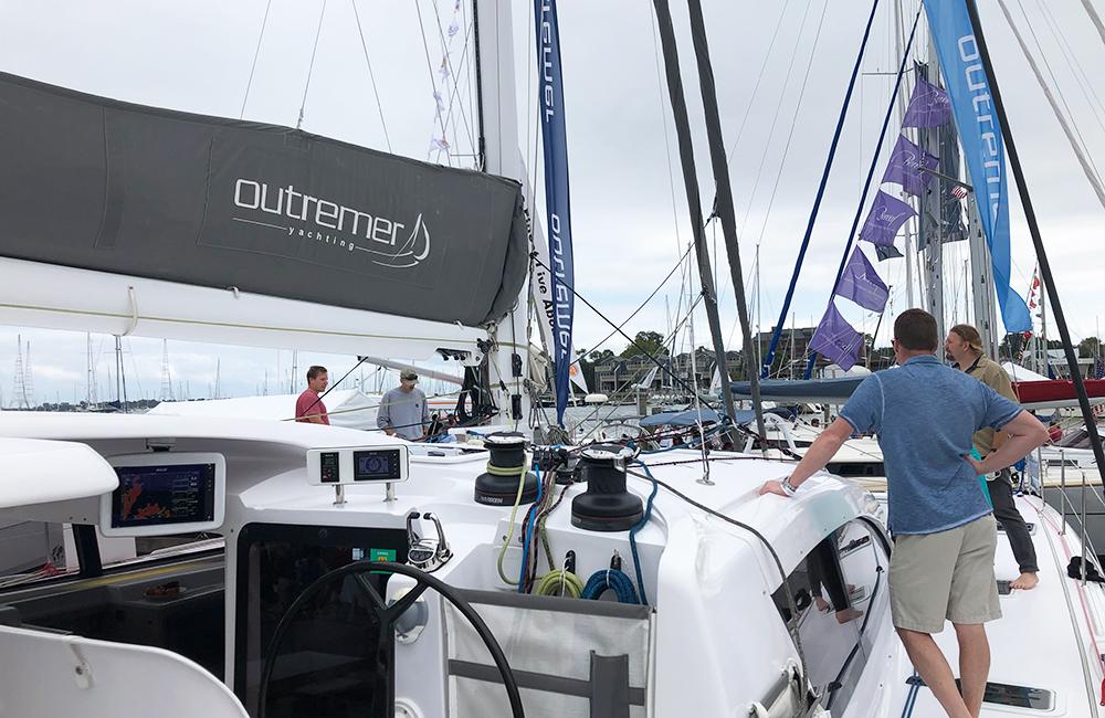 Outremer Catamarans Annapolis Show