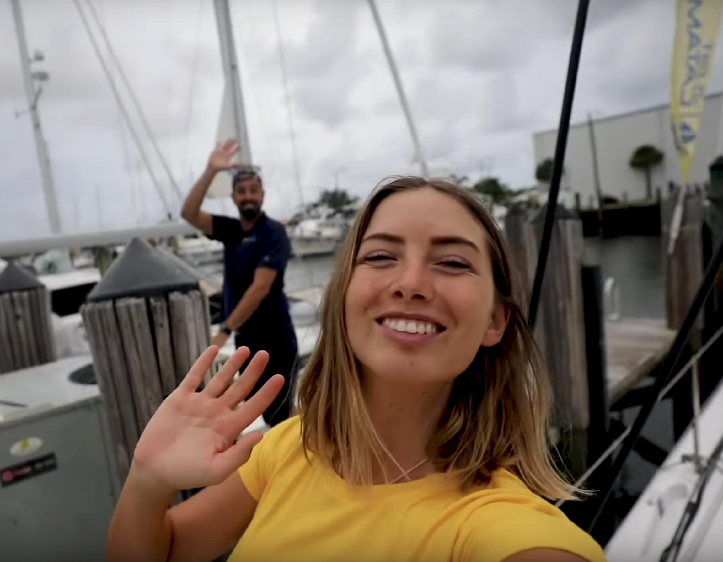 Sailing LaVagabonde Outremer Catamaran