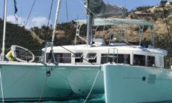 Lagoon L450 Catamaran KNEE DEEP Sold by Just Catamarans