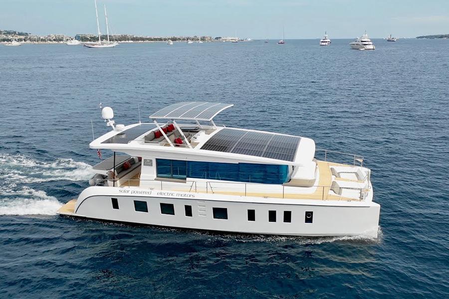 Silent 55 Catamaran