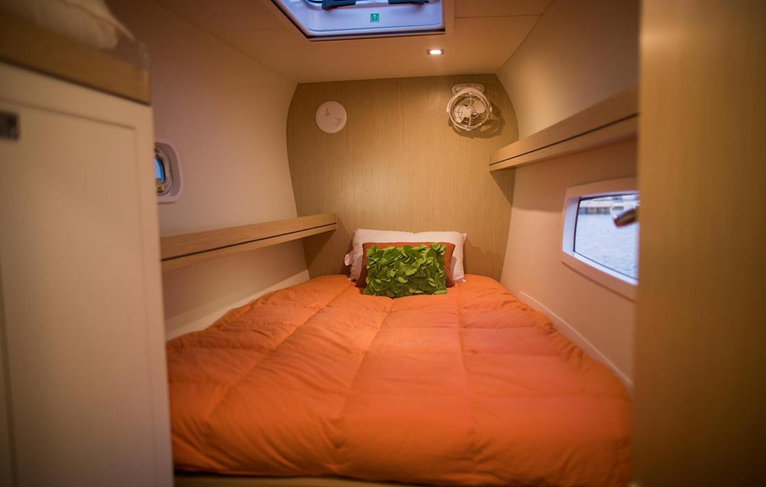 Outremer-51 Catamaran cabin