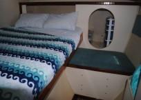 Lagoon 37 Catamaran - SOL Y MAR owners cabin