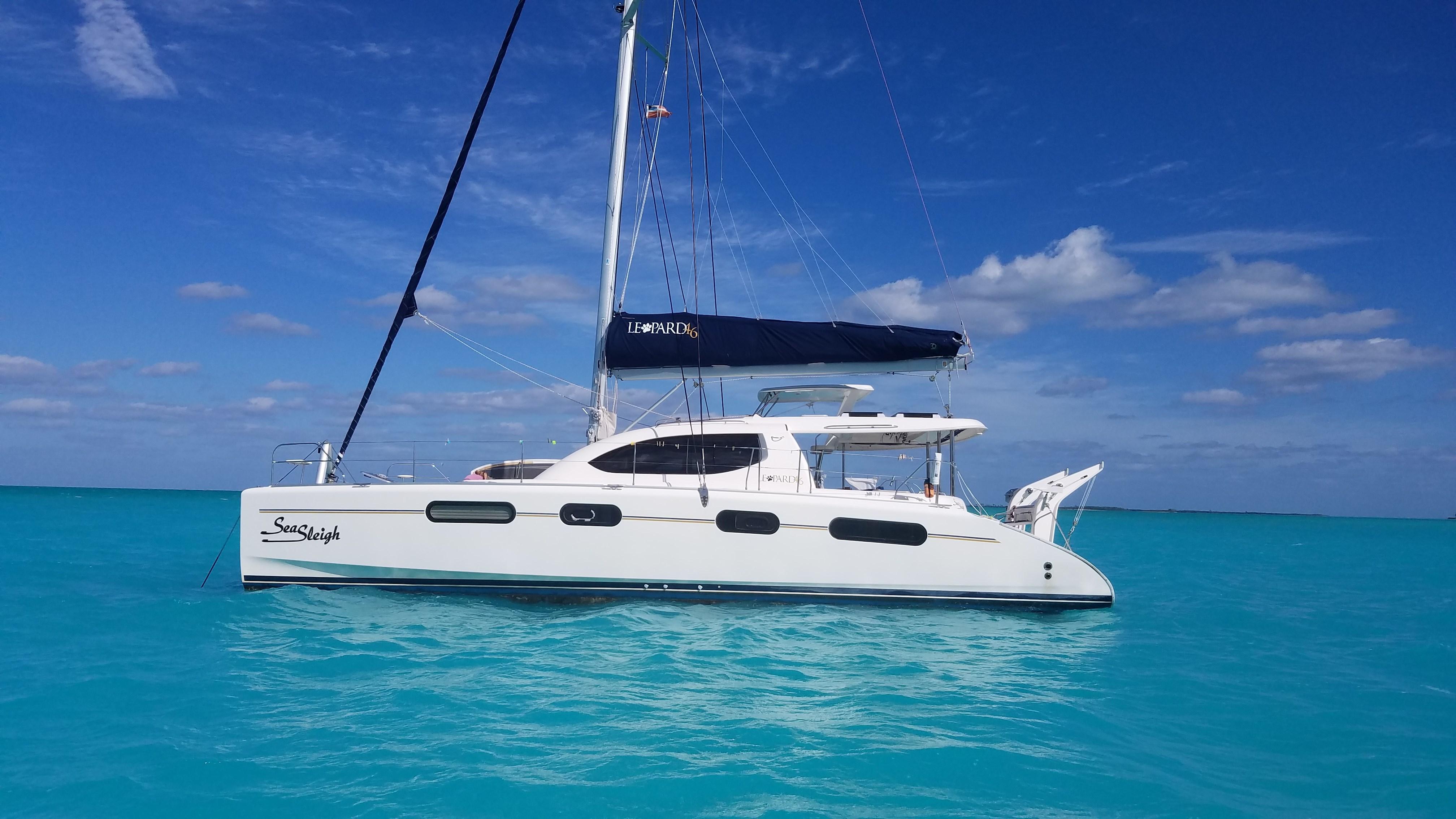 Leopard 46 Catamaran sold SEA SLEIGH
