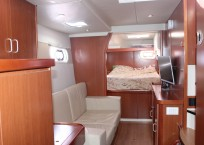 Leopard 47 Power Catamaran Cabin