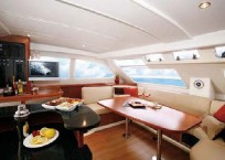 Leopard 47 Power Catamaran for sale - Salon