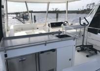 Leopard 43 Power Catamaran Flybridge