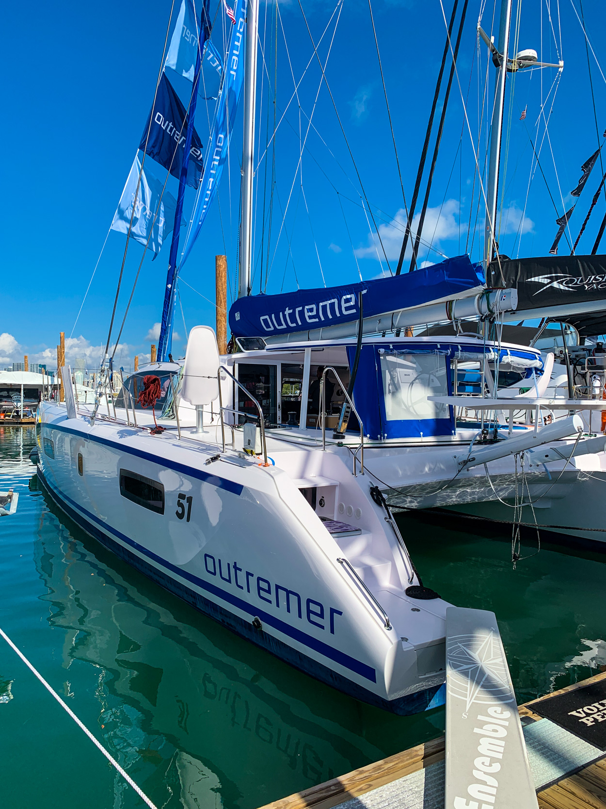 Outremer 51 Miami Boat Show