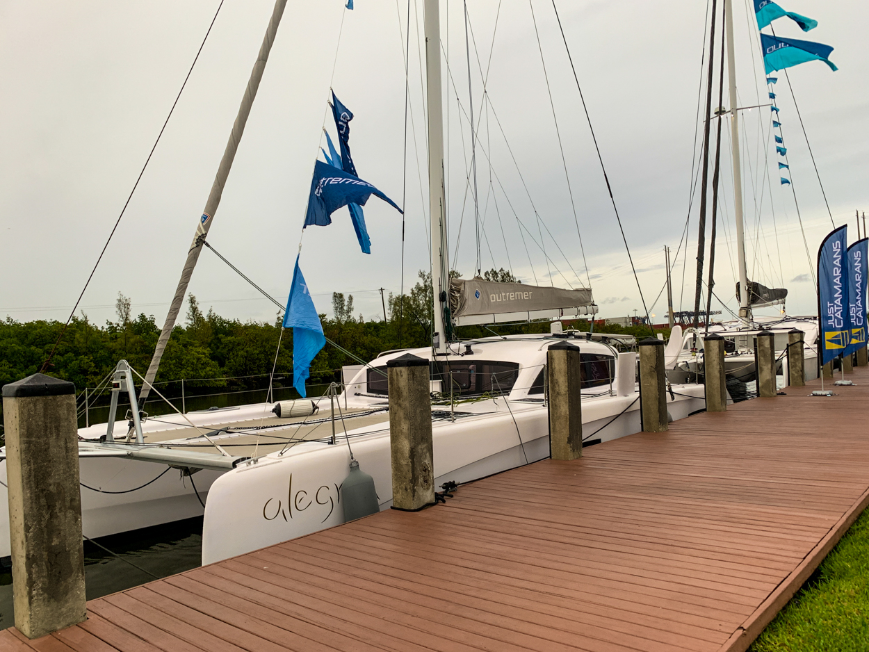 Outremer 5X and 45 Catamaran