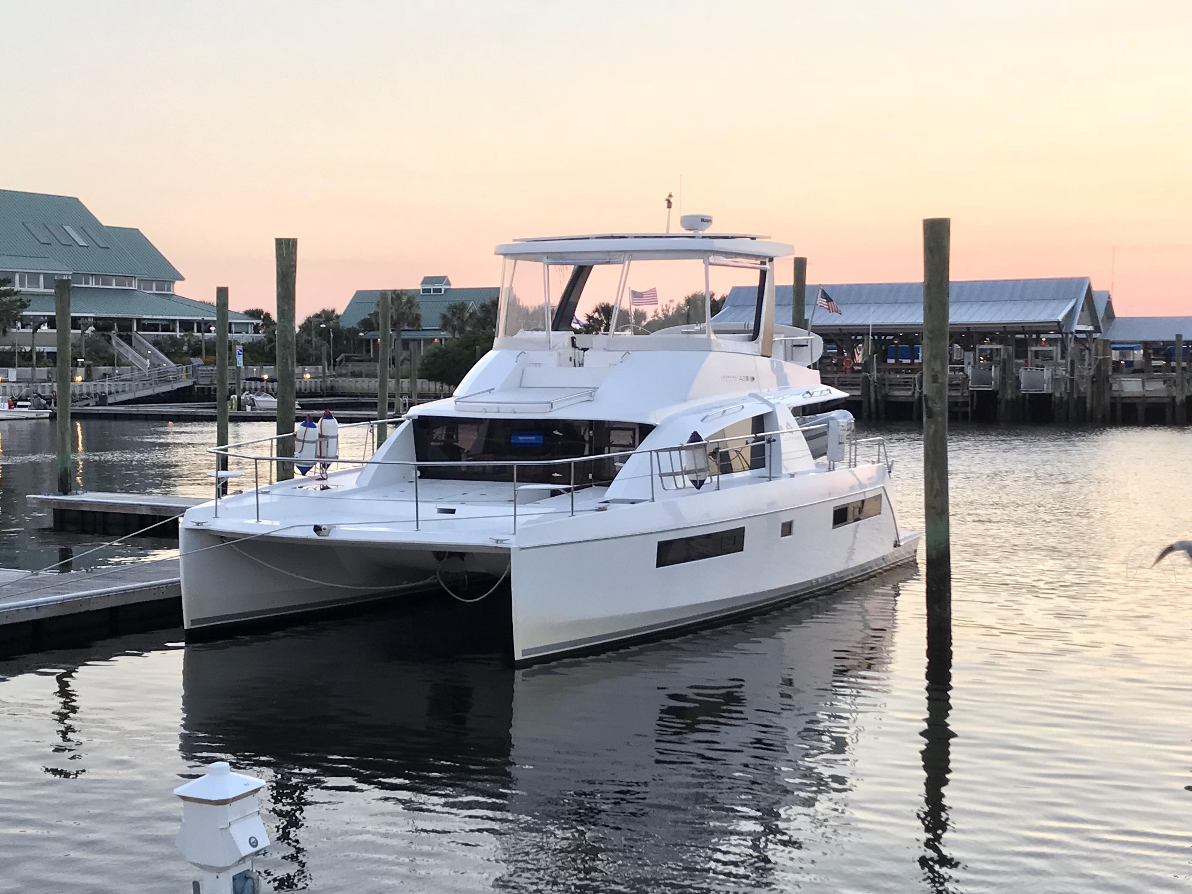 Leopard 43 Power Catamaran 2017 Sold Just Catamarans