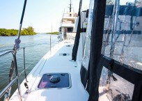 Lagoon 42 Catamaran TANGLED SHEETS