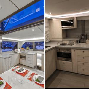 Leopard Galley Catamaran Upgrades