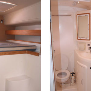 Leopard 47 Catamaran LATITUDE FOUND salon