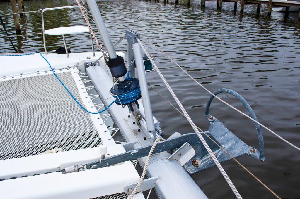 Lagoon 380 Catamaran KEY OF SEA sold anchor