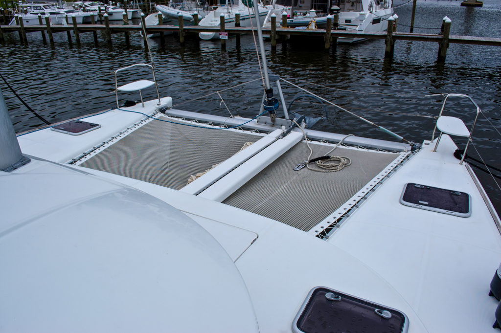 Lagoon 380 Catamaran KEY OF SEA sold bow