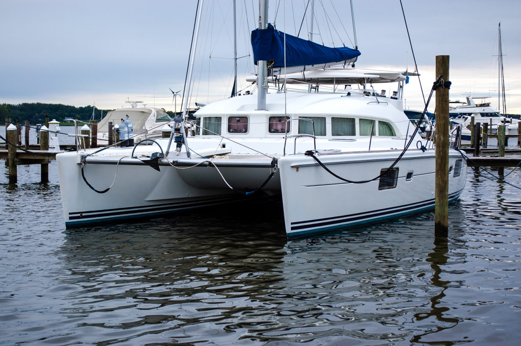 Lagoon 380 Catamaran KEY OF SEA sold