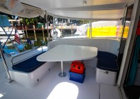 Fountaine Pajot Catamaran NOVA SATUS aft seating