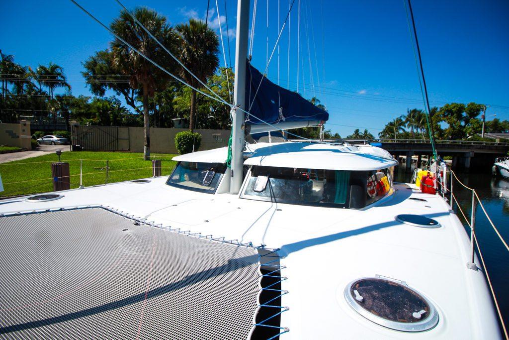 Fountaine Pajot Catamaran NOVA SATUS bow