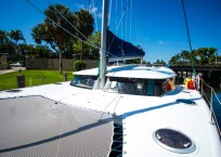 Fountaine Pajot Catamaran NOVA SATUS bow