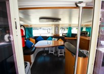 Fountaine Pajot Catamaran NOVA SATUS cockpit