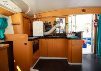 Fountaine Pajot Catamaran NOVA SATUS galley