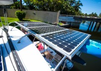 Fountaine Pajot Catamaran NOVA SATUS solar panel
