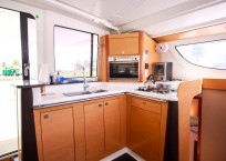 Fountaine Pajot Lipari 41 Catamaran CARDICAT galley