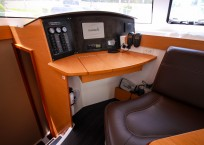 Fountaine Pajot Lipari 41 Catamaran CARDICAT nav station