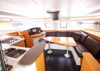Fountaine Pajot Lipari 41 Catamaran CARDICAT salon