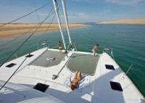 2014 Lagoon 620 Catamaran LADY RACHEL bow