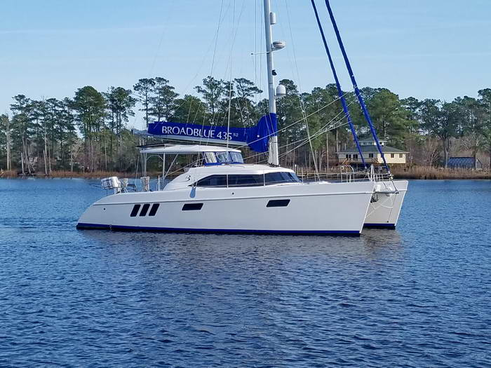 Broadblue 435 Catamaran ADVENTURE sold