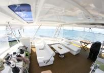 Leopard 58 Catamaran AQUA BOB deck
