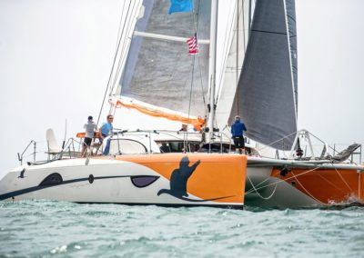 2019 Outremer Cup Week - Catamarans sailing 1