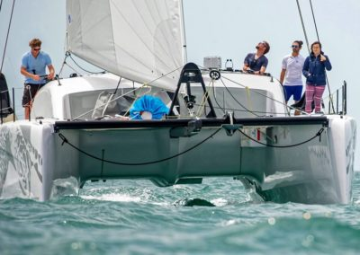 2019 Outremer Cup Week - Catamarans sailing 16