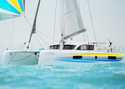 2019 Outremer Cup Week - Catamarans sailing 19