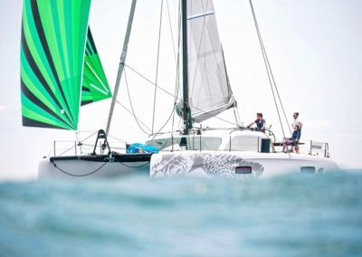 2019 Outremer Cup Week - Catamarans sailing 25