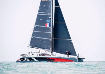 2019 Outremer Cup Week - Catamarans sailing 40