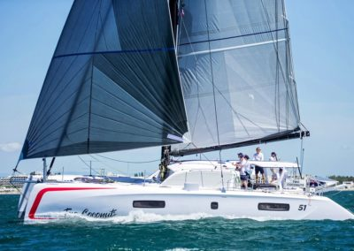2019 Outremer Cup Week - Catamarans sailing 44