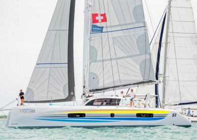 2019 Outremer Cup Week - Catamarans sailing 46