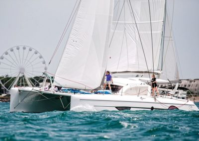 2019 Outremer Cup Week - Catamarans sailing 47