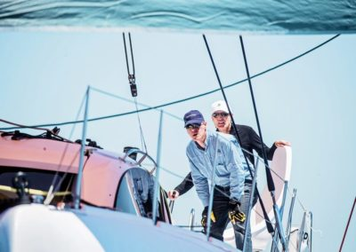 2019 Outremer Cup Week - Catamarans sailing 49