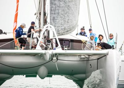 2019 Outremer Cup Week - Catamarans sailing 52