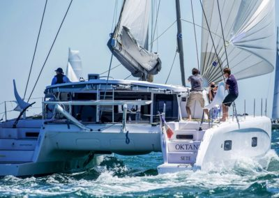 2019 Outremer Cup Week - Catamarans sailing 6