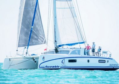 2019 Outremer Cup Week - Catamarans sailing 9