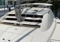 Leopard 40 Catamaran ISLAND STAR bow