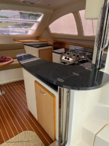 Leopard 40 Catamaran galley