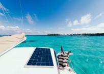 2002 Catana 471 Catamaran iCan solar panels