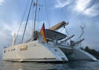 2002 Catana 471 Catamaran iCan port profile
