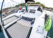 Admiral 40 Catamaran EVENFLOW bow