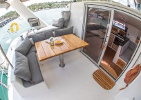 Admiral 40 Catamaran EVENFLOW cockpit
